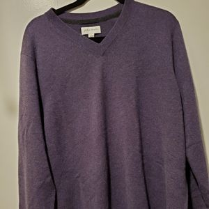 John W Nordstrom size large cashmere sweater